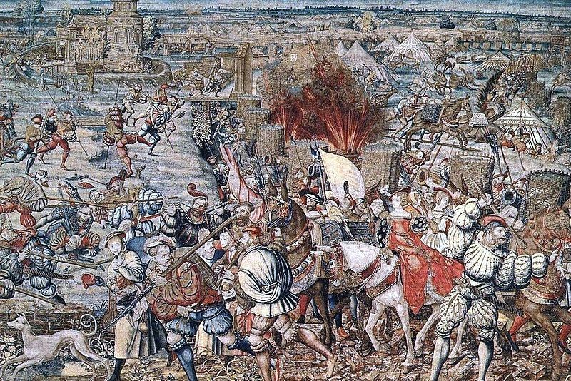 Battle-of-Garigliano-Italy-1503