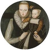 Lady-Katherine-Grey-Countess-of-Hertford-1540-1568-with-her-son-Viscount-Beauchamp-1561-–-1612-by-Levina-Teerlinc