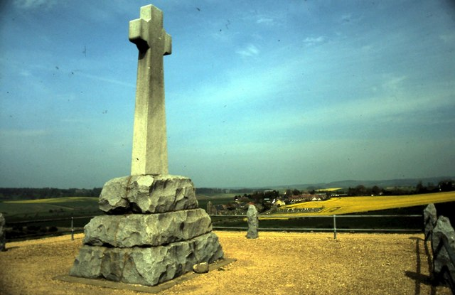Memorial-to-the-fallen-at-Flodden-Branxton-Northumberland
