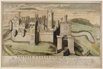 Tutbury Castle Staffordshire