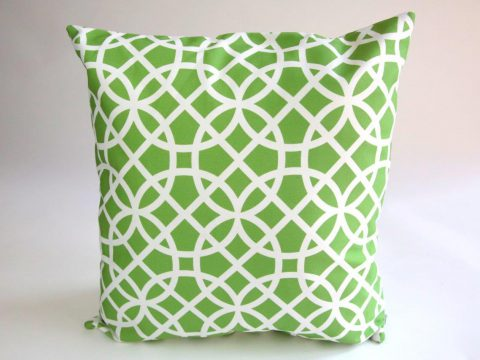 Erskine Cushion - Reverse Pattern