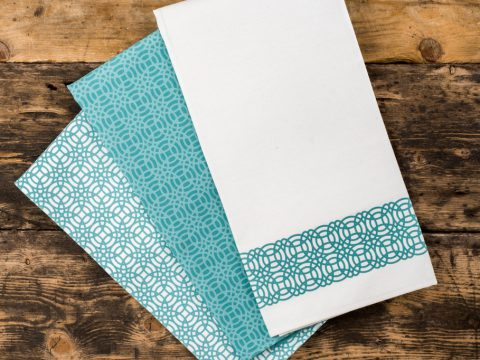 Set of 3 Percy Tea Towels