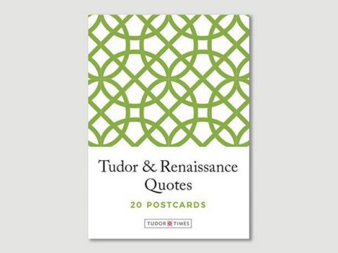 Pack of Tudor & Renaissance Quotes Postcards