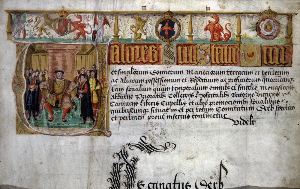 Valor-Ecclesiasticus-commissioned-in-January-1535.-National-Archive-INF-14-47