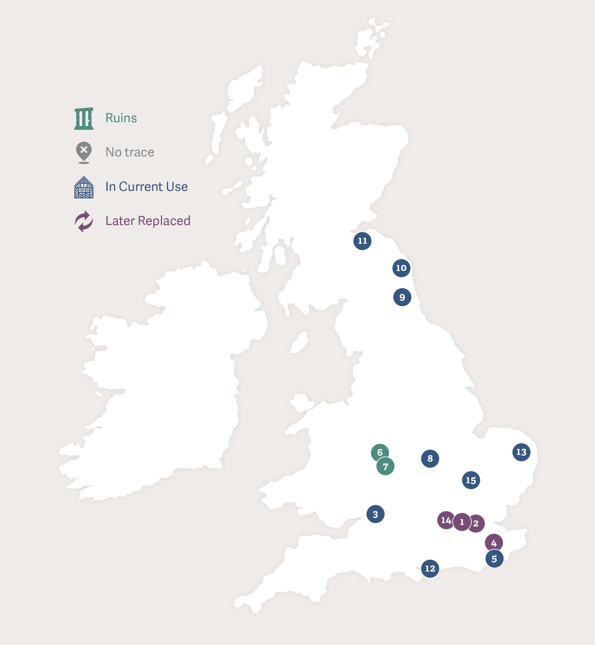 John Dudley Map P1