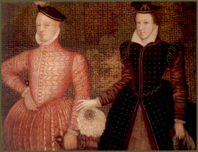 Mary-Queen-of-Scots-and-Lord-Darnley-Mary's-marriage-to-Lord-Darnley-proved-disastrous