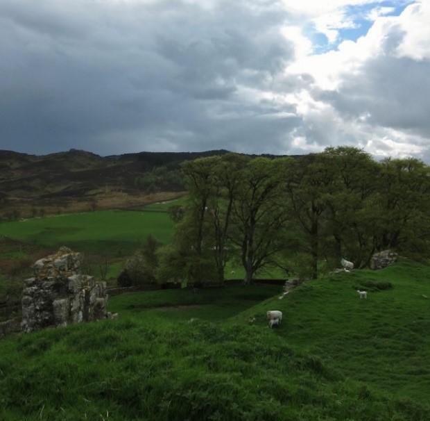 ©-Tudor-Times-Ltd-–-Harbottle-Castle-Northumberland-where-Margaret-was-born