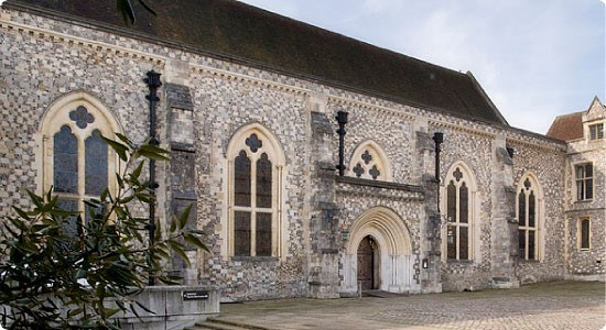 Great Hall At Winchester Owned By Hampshire County Council