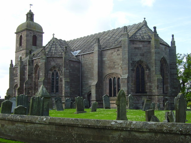 Ladykirk-of-Steill-built-by-James-IV-to-celebrate-victoires-in-1495-Picture-by-James-Denham