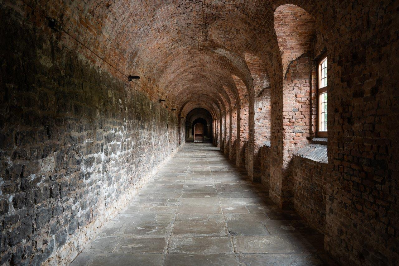 Norfolk Cloister From Charterhouse Compressed