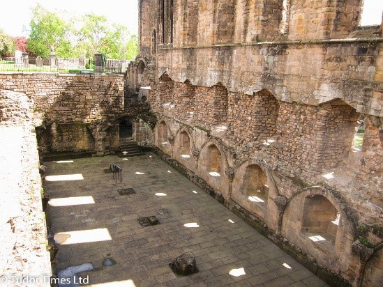Remains Of Anne Of Denmark'S Palace At Dunfermline Fife